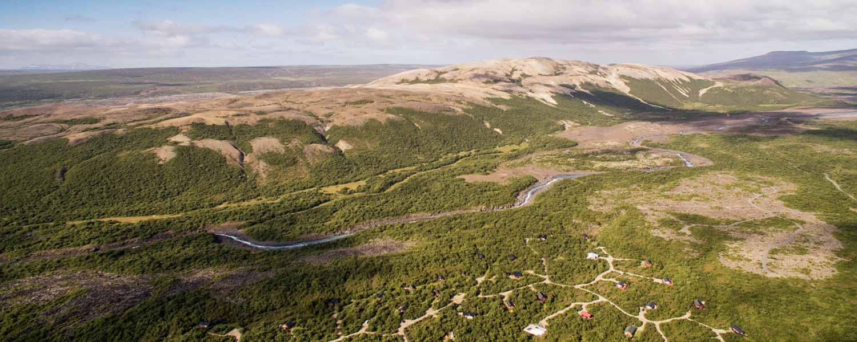 En ridtur med fantastisk utsikt över det isländska landskapet