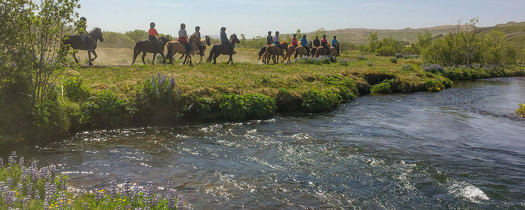 ridresa Island mellan floderna